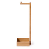 Wireworks Arena Bamboo Freestanding Roll Holder: Image 3