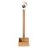 Wireworks Arena Bamboo Freestanding Roll Holder: Image 6