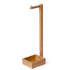 Wireworks Arena Bamboo Freestanding Roll Holder: Image 1