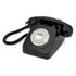 GPO Retro 746 Rotary Dial Telephone - Black: Image 1