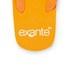 PE Beach Flip Flops with PVC Strap - Orange - Large: Image 4
