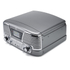 GPO Retro Memphis Turntable 4-in-1 Music System with Built in CD and FM Radio - Silver: Image 3