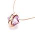 Katie Rowland Women's Orb Statement Pendant Necklace - 18 Carat Rose Gold: Image 4