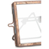 Nkuku Tiny Danta Frame - Antique Copper - Set of 2 - 5 x 5cm: Image 3