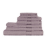 Restmor 100% Egyptian Cotton 7 Piece Supreme Towel Bale Set (500gsm) - Mauve: Image 1