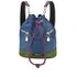 House of Holland Bucket Leather Bag - Pink/Blue: Image 1