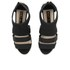 Kat Maconie Women's Georgia Leather Cut Out Heeled Sandals - Black: Image 2