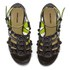 Markus Lupfer Women's Glitter Black Balls Block Heeled Sandals - Black: Image 2