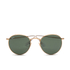 Ray-Ban Round Metal Sunglasses - Arista/Crystal Green - 50mm: Image 1