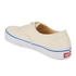 Vans Authentic Canvas Trainers - White: Image 5