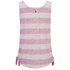 Animal Women's Carmyn Stripe Side Tie Vest - Pastel Pink: Image 2