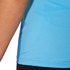 Asics Women's Shorts Sleeve Half Zip Running Top - Natural Blue: Image 5