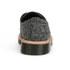 Dr. Martens Men's 'Made in England' Crafted Lester 3-Eye Leather Shoes - Black Melange Silk: Image 3