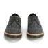 Dr. Martens Men's 'Made in England' Crafted Lester 3-Eye Leather Shoes - Black Melange Silk: Image 4