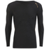 Skins A400 Men's Compression Long Sleeve Top - Black: Image 1