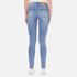 Cheap Monday Women's 'Second Skin' High Waisted Skinny Jeans - Stonewash Blue: Image 3