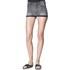 Cheap Monday Women's 'Short Skin' High-Waist Denim Shorts - Grey: Image 2