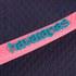 Havaianas Women's Slim Logo Flip Flops - Navy Blue/Pink: Image 4