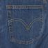 Levi's Women's 501 Cali Cool Mid Rise Tapered Jeans - Dark Indigo: Image 4