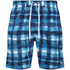 Zoggs Men's Water Check Scarborough 19 Inch Swim Shorts Blue Check: Image 1