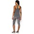 Under Armour Women's Heat Gear Alpha Training Tank Top - Carbon Heather/Metallic Silver: Image 2