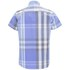 Duck and Cover Men's Cecil Check Short Sleeve Shirt - Ice Blue: Image 2
