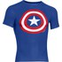 Under Armour Men's Captain America Compression Short Sleeved T-Shirt - Blue/Red/White: Image 1