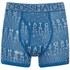 Crosshatch Men's Squint 2-Pack Boxer Shorts - Mykonos Blue/Grey Marl: Image 2