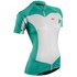 Sugoi Women's Evolution Short Sleeve Jersey - Green: Image 1