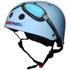Kiddimoto Goggle Helmet - Blue: Image 1