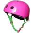 Kiddimoto's bright  eye-catching helmet designs are based upon the iconic looks of the popular BMX Dirt helmets. Our helmets are stylish  practical and multifunctional  helping to protect your child as they enjoy all their outdoor adventures. This one's for girls who love bright neon pink    Two sizes from age 2  Bright neon pink colour  Ideal for Kiddimoto balance-biking  cycling  BMXing  skating and skateboarding  11 vents to keep little heads cool  Rear adjustment wheel to ensure a snug fit (small and medium size only)  Lightweight inner shell with foam pads for comfort and fit  Adjustable straps and quick release buckle  Injection moulded ABS hard plastic  Meets CE/EN1078  ASTM F 1447  ANSI Z90-4  CPSC   AS-NZS 2063 bicycle helmet standards  1 year guarantee    Sizes:    Small: 48-53cm Age 2-5  Medium: 53-58cm Age 4-Adult