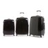 Redland '60TWO Collection' Hardsided Trolley Suitcase Set - Black - 75/65/55cm (3 Piece): Image 1