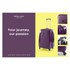 Redland '60TWO Collection' Hardsided Trolley Suitcase - Purple - 75cm: Image 7