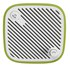 Sonoro Cubo Go New York Portable Bluetooth Speaker - White/Green: Image 3