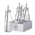 Parlane Milk Bottles with Straws (Set of 4): Image 1
