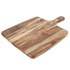 Natural Life NL82012 Acacia Wood Cutting Board with Handle: Image 1