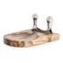 Natural Life NL82014 Mezzaluna with Acacia Cutting Board: Image 2