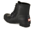 Hunter Men's Original Lace Up Rubber Rigger Boots - Black: Image 5
