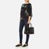 Lauren Ralph Lauren Women's Newbury Zip Shopper Bag - Black: Image 2