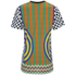 House of Holland Women's Viscose/Lycra Flame Print T-Shirt - Multi Viscose: Image 2