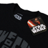 Star Wars Men's Darth Vader Text Head T-Shirt - Black: Image 3