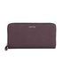 Calvin Klein Sofie Large Leather Purse - Claret: Image 1