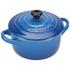 Le Creuset Stoneware Petite Casserole Dish - Marseille Blue: Image 2