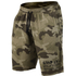 GASP Thermal Shorts - Green Camoprint: Image 1