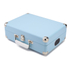 GPO Retro Attache Briefcase Style Three-Speed Portable Vinyl Turntable with Free USB Stick and Built-In Speakers - Sky Blue: Image 2