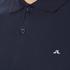 J.Lindeberg Men's Rubi Short Sleeve Polo Shirt - Navy: Image 5