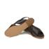 HUGO Women's Valenteen Snake Print Leather Crossover Sandals - Black: Image 6