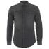 BLK DNM Men's 5 Long Sleeve Shirt - Black: Image 1
