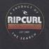 Rip Curl Men's Big Mama Circle Crew Neck Sweatshirt - Black: Image 3
