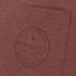 Rip Curl Men's Zinc Pocket T-Shirt - Rusty Brass Marl: Image 3